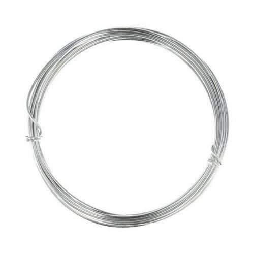 Fil en aluminium ? tricotin - 1,5 mm x 5 m