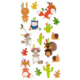 Puffies stickers - Totem characters