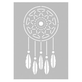 Stencil Indian Dream catcher