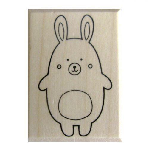 Wooden stamp - Rabbit