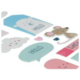 Autocollants Puffies XL - Animaux adorables