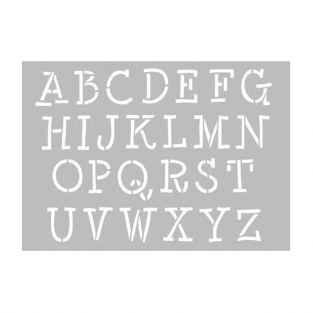 Stencil - Capital letters