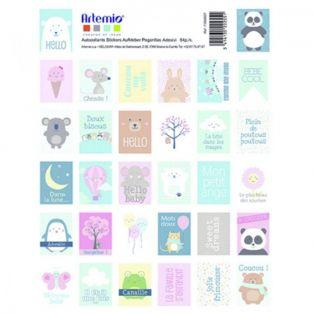 Stickers stamps - Adorable Animals