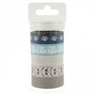 5 masking tape birth - Adorable Panda & Bear