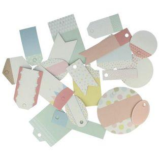 21 scrapbooking tags - Adorable Animals