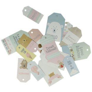 15 scrapbooking tags - Adorable Animals