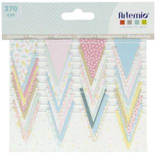 Small pennant wreath 2,7 m