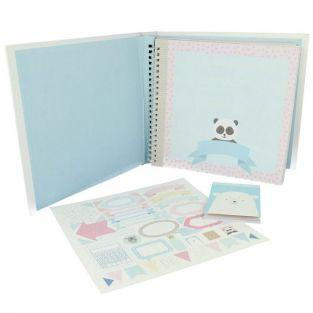 Baby Album Kit - Adorable Animals