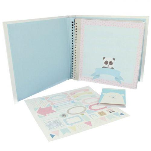 Baby Album Kit - Adorable Animals