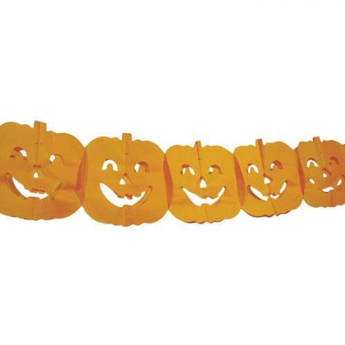 Guirlande Citrouilles pour Halloween
