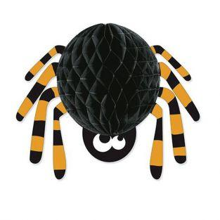 Halloween paper honeycomb Spider