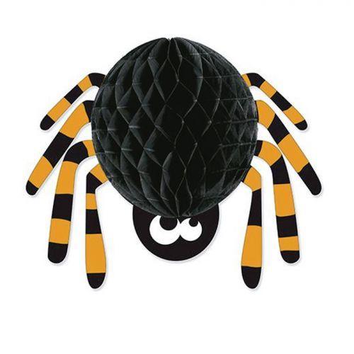 Esfera de papel Araña para Halloween