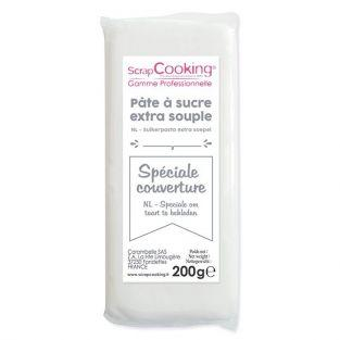 Easy-to-roll sugar paste 200 g - white