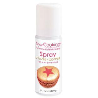 Colorante alimentario en spray 50 ml - cobrizo