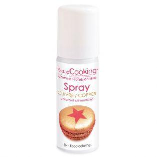 Food color spray 50 ml - Copper