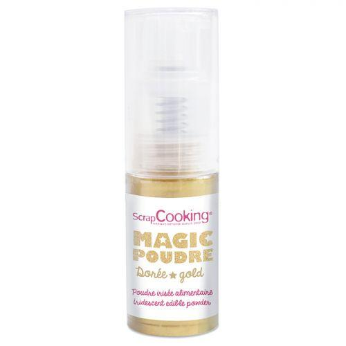 Edible iridescent powder 7 g - Golden