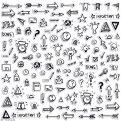 115 icons stickers for Bullet journal