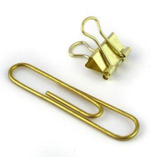 15 trombones et mini clips XL - dor?