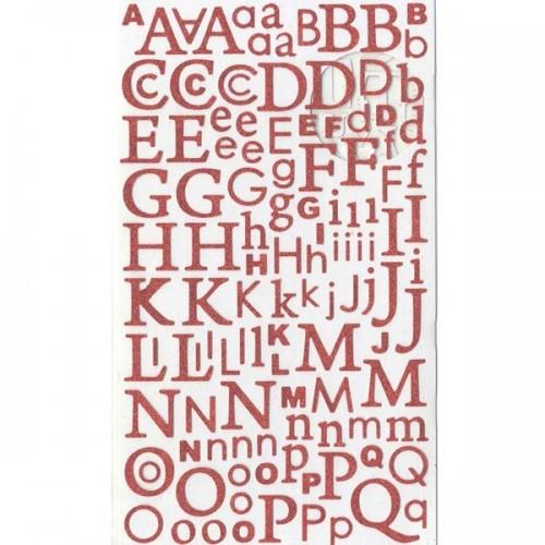 Alphabet paillettes
