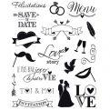 Wedding Clear stamps - 14 x 18 cm