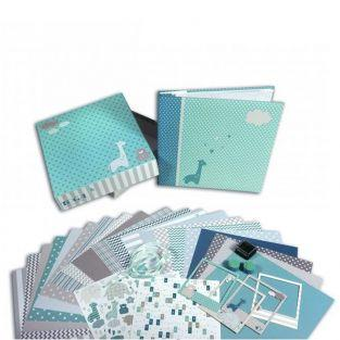 Scrapbooking Birth Box - Boy