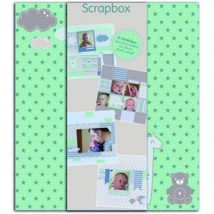 Scrapbooking Birth Box - Boy