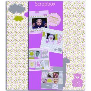 Scrapbooking Birth Box - Girl