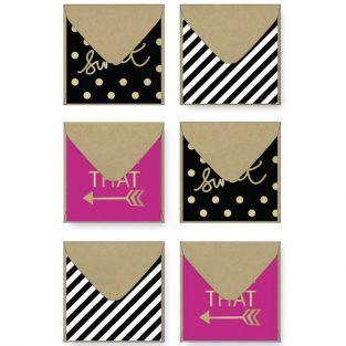 Mini enveloppes 5 x 5 cm - Sweet