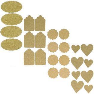 Kit 26 cork stickers