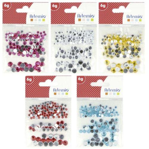 750 pierres strass ? coller - Multicolores