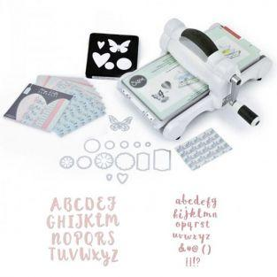 Kit d?butant Sizzix Big Shot ?dition Alphabet