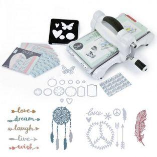 Sizzix Big Shot Starter Kit - Bohemian Edition