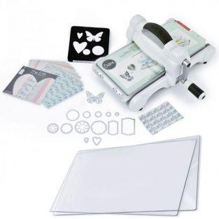Sizzix Big Shot Starter Kit + 2 Replacement Polycarbonate Plates