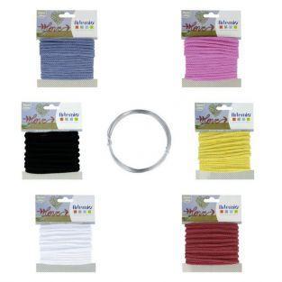 Kit 6 fils à tricotin + fil d'aluminium