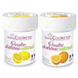 Natural flavour powder 15 g x 2 - lemon & orange
