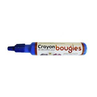 Crayon cire liquide pour bougie - Bleu