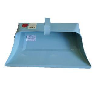 Pelle à poussière vintage en acier Tala - bleu