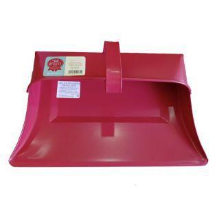 Pelle à poussière vintage en acier Tala - rouge