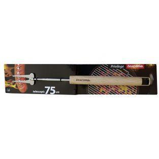 Fourchette téléscopique pour Barbecue - 22-75 cm
