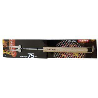 Tenedor telescópico de barbacoa - 22-75 cm