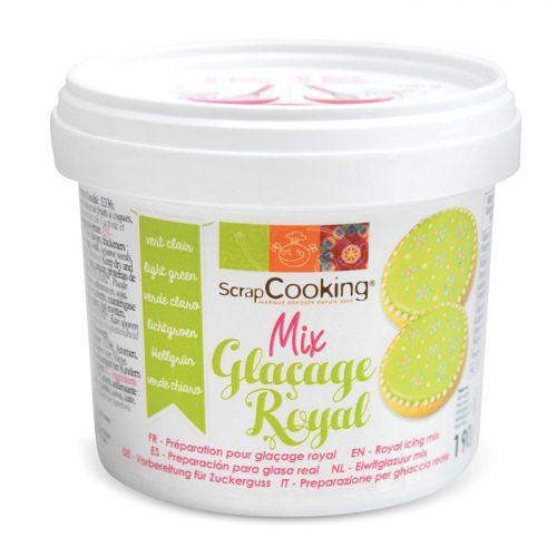 Préparation glaçage royal vert clair 190 g