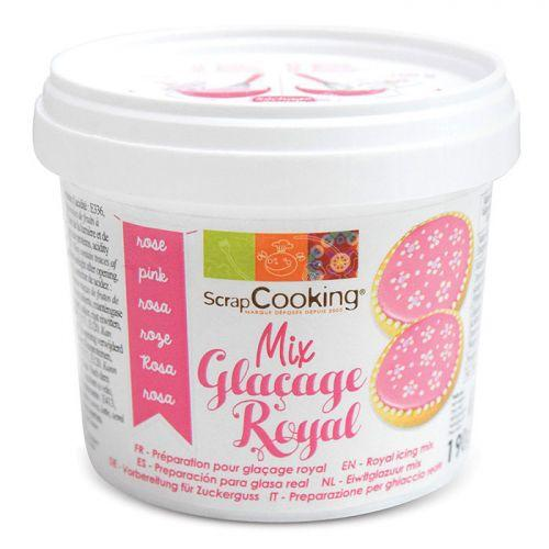 Préparation glaçage royal rose 190 g