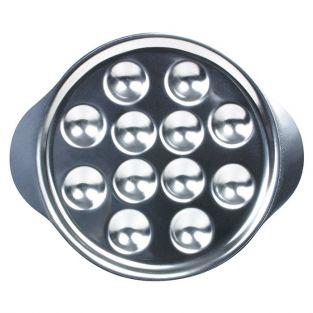 Stainless steel snail plate with 12 holes