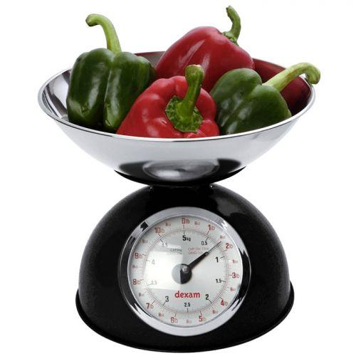 Vintage kitchen scale 2 liters - Black