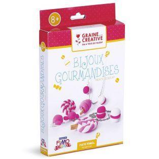 Coffret pour enfants - Bijoux gourmands à faire soi-même en pâte FIMO