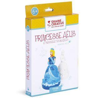 Coffret plâtre à faire soi-même - Princesse Aélis
