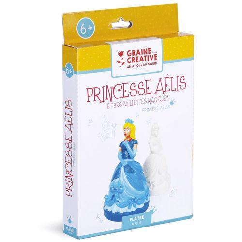 Child gift box DIY Plaster - Princesse Aelis