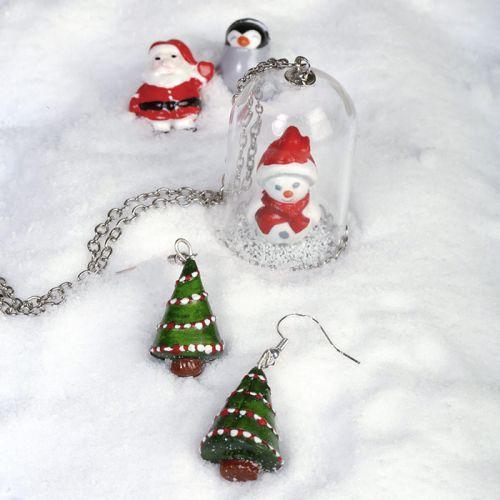 Mini moule en silicone pour pâte FIMO - Noël