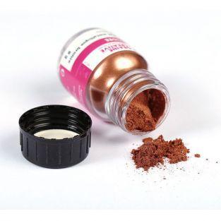 Poudre effet métalllique bronze pour pâte FIMO - 8 g