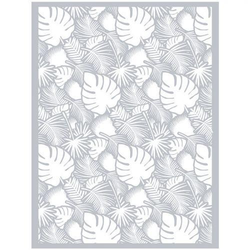 Polymer paste stencil 11,4 x 15,3 cm - Tropical foliage